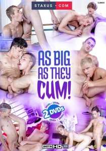 As Big As They Cum DVD