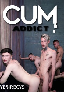 Cum Addict DVD (Yesirboys)