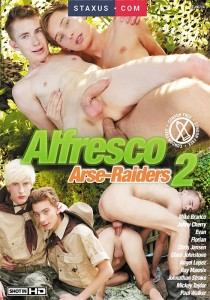 Alfresco Arse-Raiders 2 DVDR (NC)