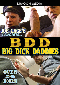 Joe Gage's Favorite Big Dick Daddies DVD