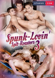 Spunk-Lovin' Spit-Roasters 3 DVD