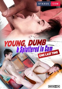Young, Dumb & Splattered in Cum (One Last Time!) DVD